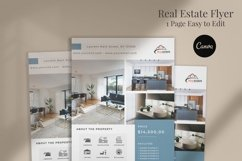 Real Estate Flyer, Canva Product Image 2