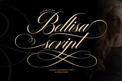 Bellisa script Product Image 1
