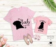 Black Labrador Retriever Dog Silhouette | Dog Mom SVG Files Product Image 3