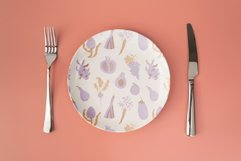 Pattern with fruits & vegetables Product Image 2
