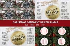 Christmas Ornament Bundle - Christmas SVG Bundle Product Image 1