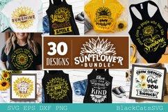 Sunflower SVG bundle 30 designs sunshine SVG bundle Product Image 3