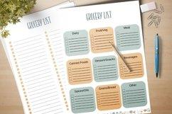 Grocery List Printable Product Image 3