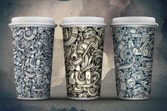 Automotive Graphics Doodle Patterns Product Image 6