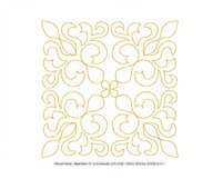 Quilt Block Stipple 13 - Machine Embroidery Design in 3 size Product Image 2