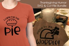 Thanksgiving Humor - Thanksgiving SVG files for Crafters Product Image 4