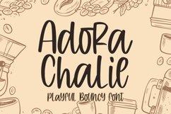 Adora Chalie - Playful Bouncy Font Product Image 1