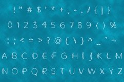 Crystal handwritten font Product Image 2