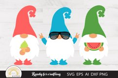 Summer Gnomes Svg Product Image 1