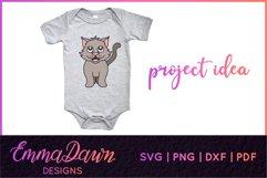 CLEO THE CAT SVG 6 MANDALA / ZENTANGLE DESIGNS Product Image 3