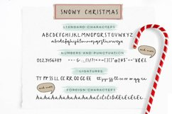 Snowy Christmas script font & logos Product Image 5