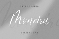 Web Font Moneira Font Product Image 1