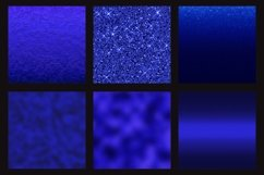 Blue foil glitter textures Product Image 4