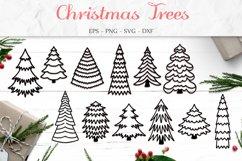 Christmas Tree Svg, Christmas Bundle, Tree Clip Art Product Image 1