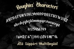 Boughies Display Typeface Product Image 2