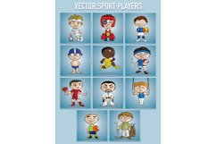 VECTOR sport players Product Image 2