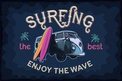 Dark surfer - vintage label font Product Image 5