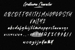 Web Font Anathema - Cool Handwritten Font Product Image 2