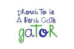 Gator -  A font by kids, for kids Product Image 2