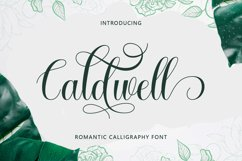 Caldwell Script Product Image 1