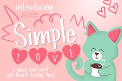 Simple Love Font Product Image 1