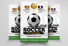 Football Match Flyer Template Product Image 1