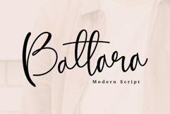 Battara script font Product Image 1