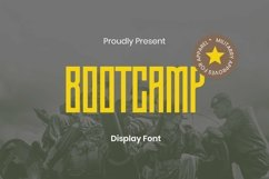 Web Font Bootcamp Font Product Image 1