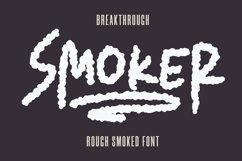 Web Font Smoker - Rough Smoked Font Product Image 2