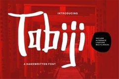 Web Font Tabiji - A Handwritten Font Product Image 1