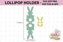 Lollipop holder template, candy holder, easter gift Product Image 2