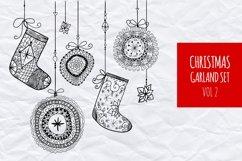 Christmas garland set vol.4 Product Image 1