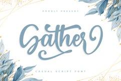 Gather - Craft Font Product Image 1