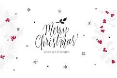 Set of Christmas wreaths Product Image 1