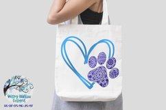 Paw Print Love SVG Bundle | Dog SVG Bundle Product Image 2