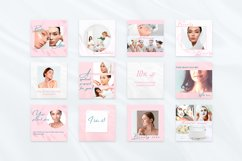 Beauty Pink Instagram Canva Tempates Post & Highlights Product Image 2
