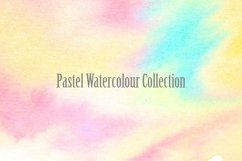 20 Pastel Watercolour Abstract Paint Backgrounds Product Image 4