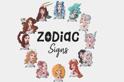 Zodiac Signs Set Hand-drawn Digital Art Product Image 7