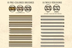 Sailor Mate's Rope Brushes V - Threads 2 Product Image 3
