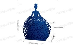 Wedding favor boxes, Gift box template Product Image 4