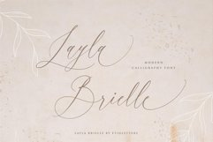 Layla Brielle Calligraphy Font Product Image 1