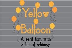 PN Yellow Balloon Product Image 1