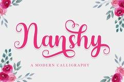 Nanshy - A Modern Calligraphy Font Product Image 1