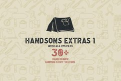 Handsons Typeface Product Image 4