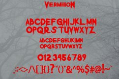 Vermillion Display Font Product Image 6