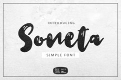 Soneta Font Product Image 1