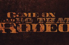 Rodeo Typeface Product Image 4