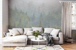 Wall mockup - wallpaper mock up Product Image 1