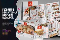 Food Menu Bifold-Trifold Brochure Product Image 1