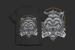Wolf T-Shirt Design Product Image 1